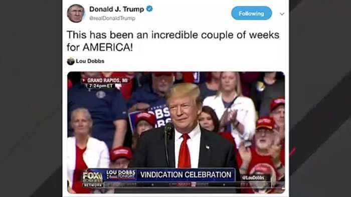 Trump: Past Weeks Have Been 'Incredible' For America