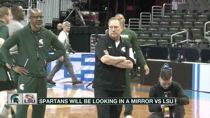 Spartans prepare for LSU