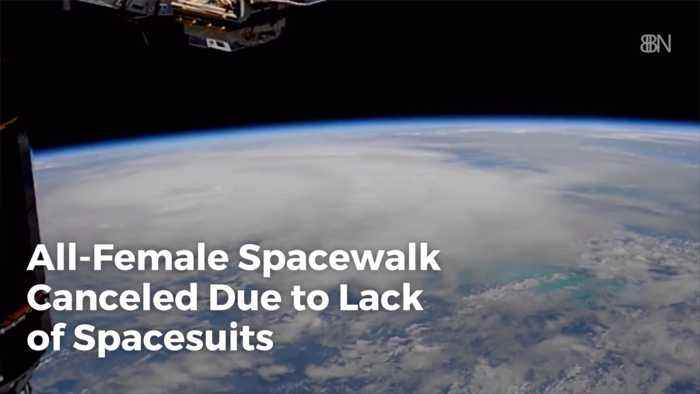 Not Enough Spacesuits For All Female Spacewalk