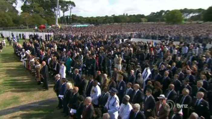 Memorial service for Christchurch victims