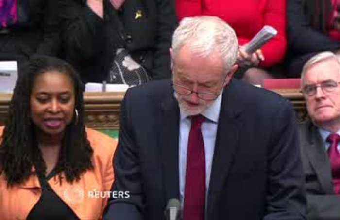 PM should go now says oppositon leader Corbyn