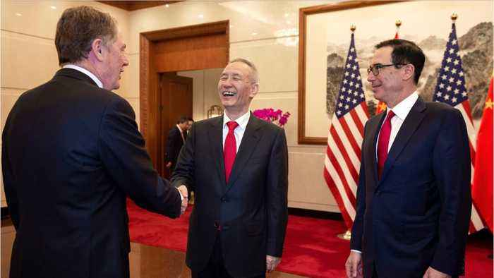 U.S., China Trade Talks Said To Be Productive, No Details Released