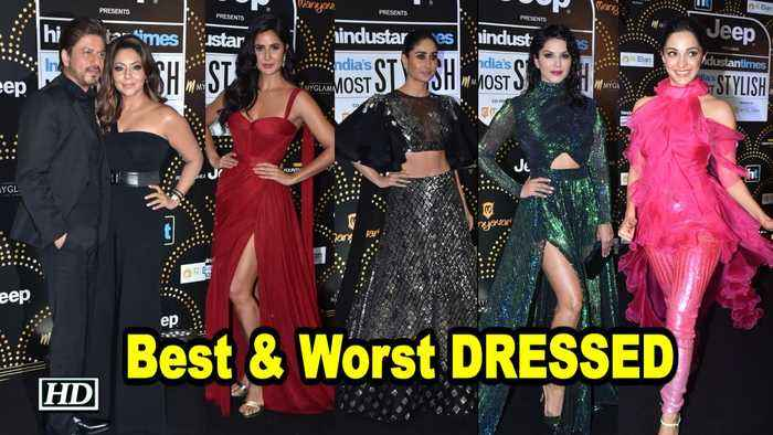 GLAM SHOW | Best & Worst DRESSED at HT Style Awards 2019