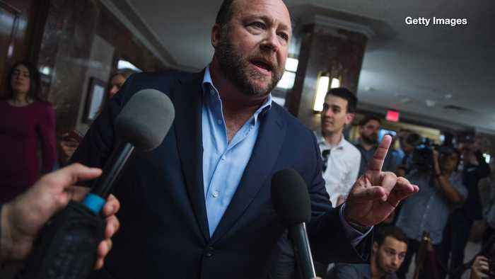 Alex Jones Blames 'Form of Psychosis' for Sandy Hook 'Hoax' Claims