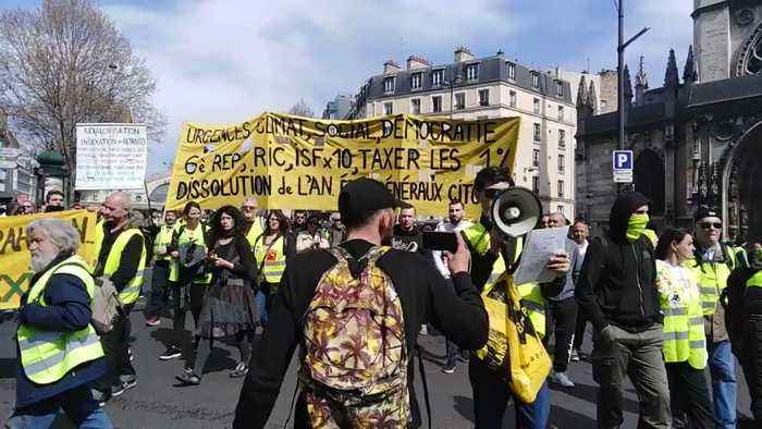 Yellow-Vest Protests Enter 20th Weekend in Paris