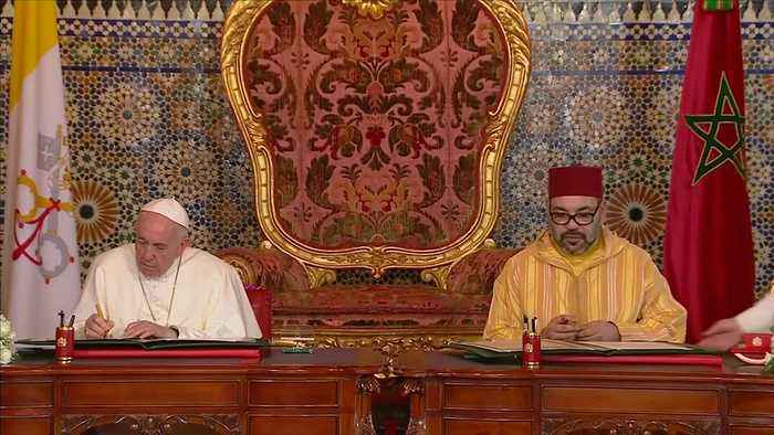 Pope, Morocco's king, say Jerusalem must be open to all faiths