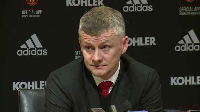 Solskjaer says his side was 'too sloppy' after United's 2-1 win against Watford