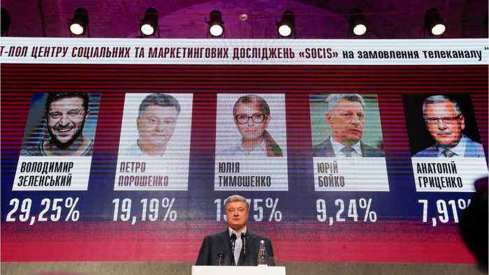 Comedian Could Become Ukraine's President