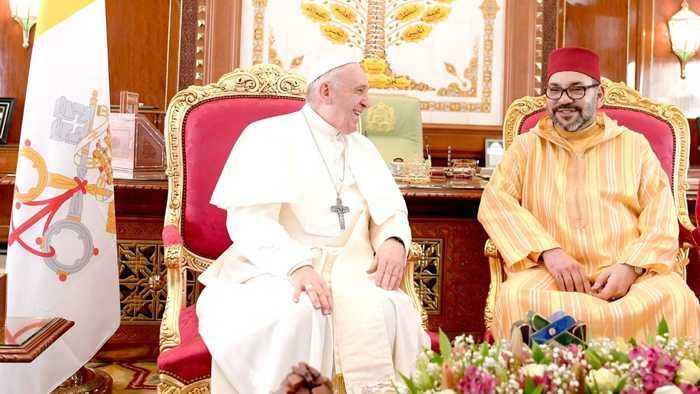 Pope Francis Tells Moroccan Catholic Community To Live 'In Brotherhood' With Other Faiths