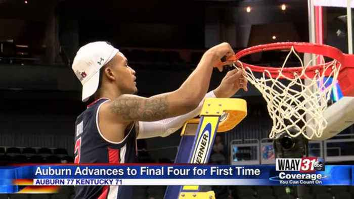 Auburn advances to the Final Four for the first time
