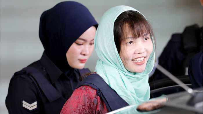Woman Accused Of Killing Kim Jong Nam Escapes Death Penalty