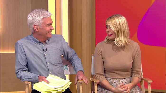 Holly Willoughby Falls For Live This Morning April Fools