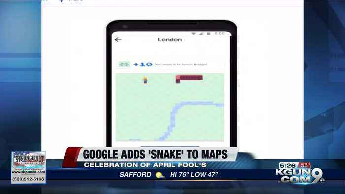 Google Maps adds city-themed 'Snake' game to app