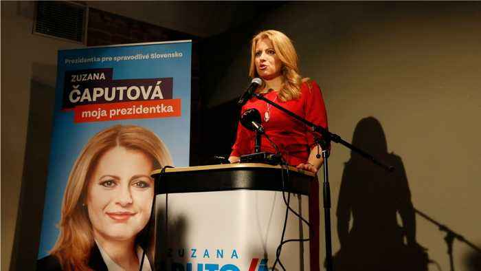 Slovakia Is Set to Elect Its First Female President