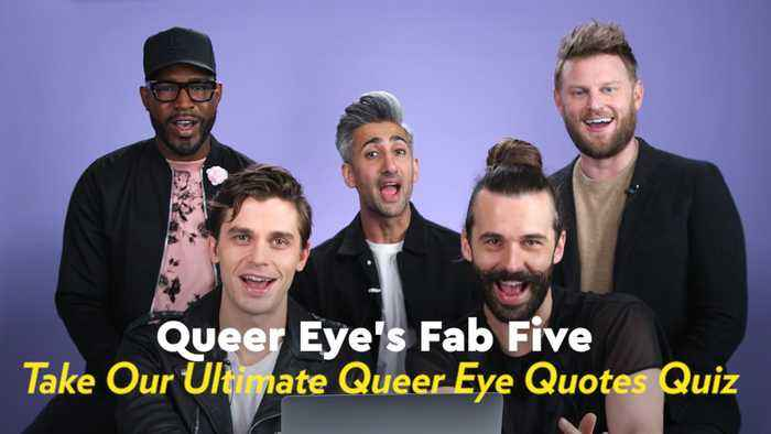 Watch the Fab Five See How Well They Remember Their Most Iconic Queer Eye Quotes