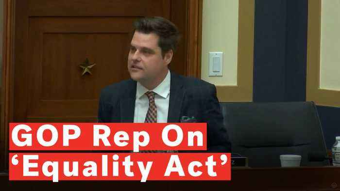 Rep. Matt Gaetz Argues Against 'Equality Act' Because Of 'Bad Actors' Like President Trump