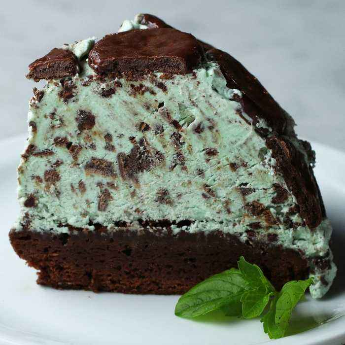 Mint Chocolate Cookie Dome