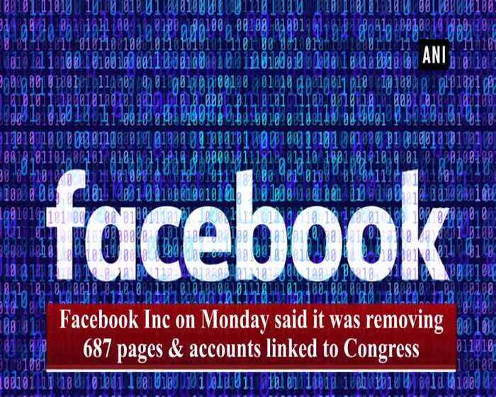 Have to check veracity of report Manish Tewari on Facebook removing pages linked to Congress
