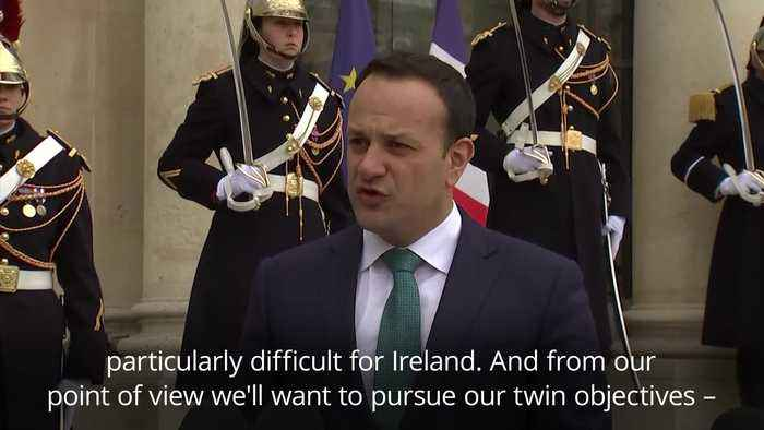 Varadkar warns no-deal Brexit would be 'particulary difficult' for Ireland