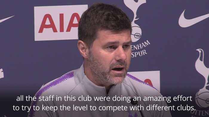 Mauricio Pochettino: New Spurs stadium will help us become one of the best clubs in the world