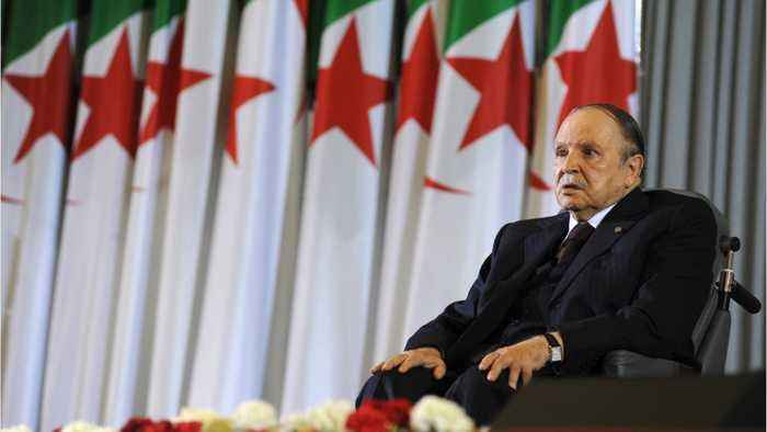 Algerians Take To Streets To Celebrate Longtime Leader's Departure