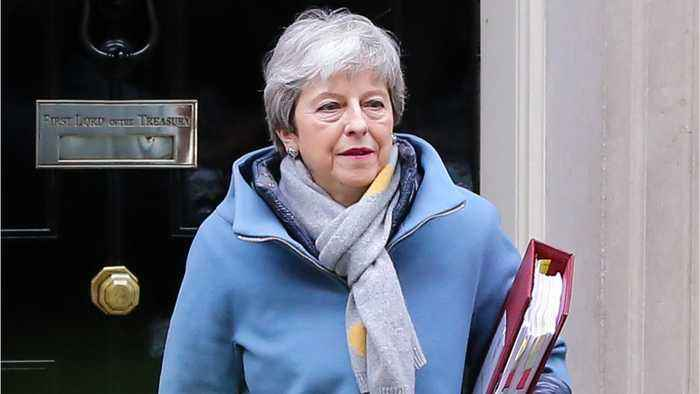 Theresa May Focuses On Ratifying Brexit Deal To Leave On May 22