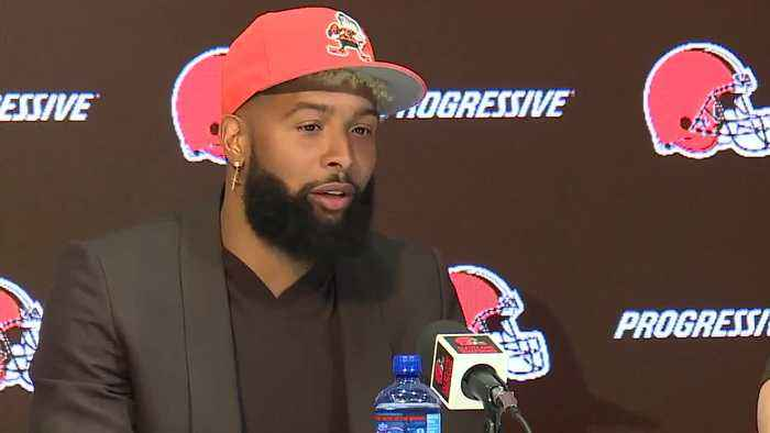 Odell Beckham Jr. shouts out Sheboygan in Browns introductory press conference