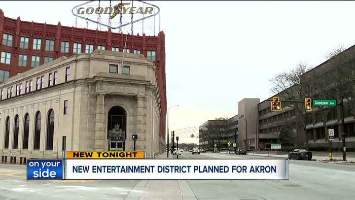 Akron City Council approves East End entertainment district at former Goodyear headquarters