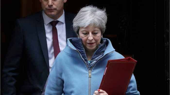 UK PM May Seeks Further Brexit Delay