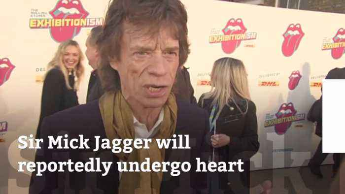 Mick Jagger Will Have Heart Surgery