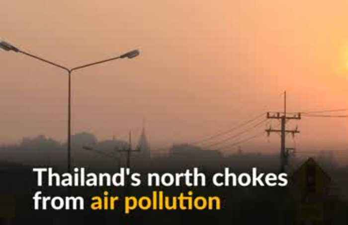 Northern Thailand suffocates due to air pollution