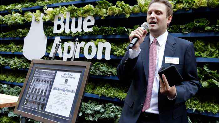 Blue Apron CEO Steps Down