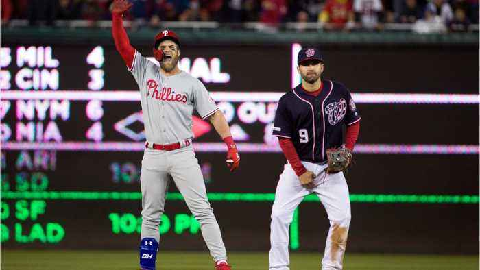 Bryce Harper Booed And Cheered In D.C. Return
