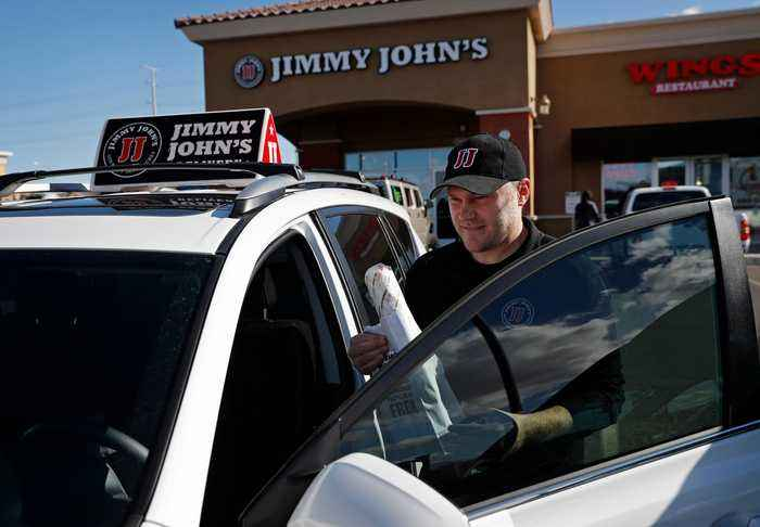 Jimmy Johns Exec: Third Party Delivery Services 'Aren't Up To Our Standards'