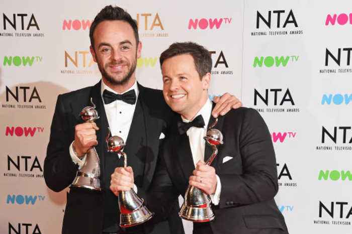 Ant McPartlin and Declan Donnelly earn £12k a day