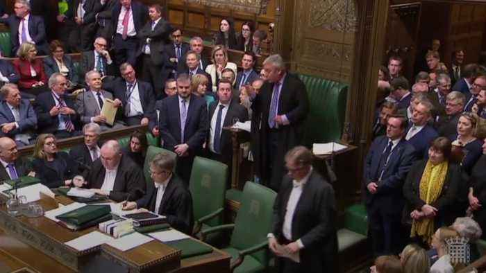 MPs return tied vote over Brexit indicative vote proposal