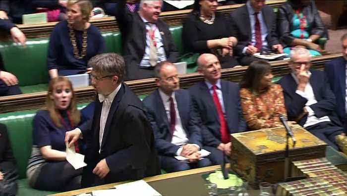 MPs back Brexit delay bill by one vote
