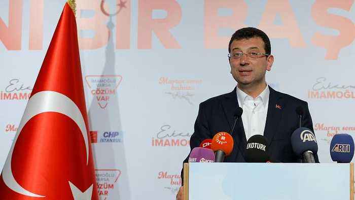 Istanbul mayor-elect: vote re-count could damage Turkey's democracy