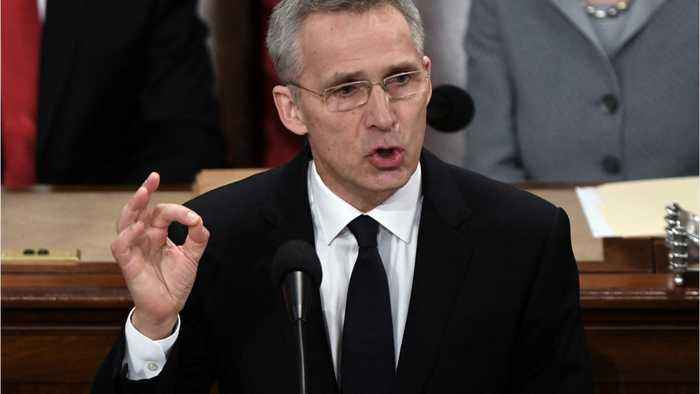 NATO Chief Urges Unity While Warning Of Russian Threat