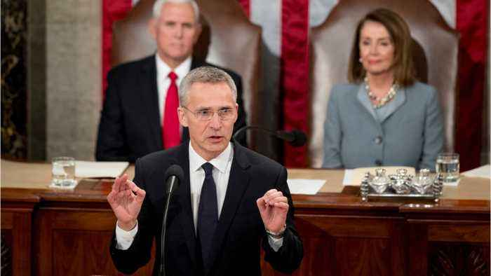 NATO Chief Warns Of Russian Threat In Address To Congress