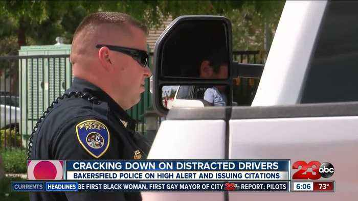BPD cracking down on distracted driving in April