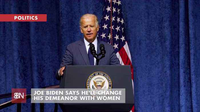 Joe Biden Promises To Keep His Distance With Less Love
