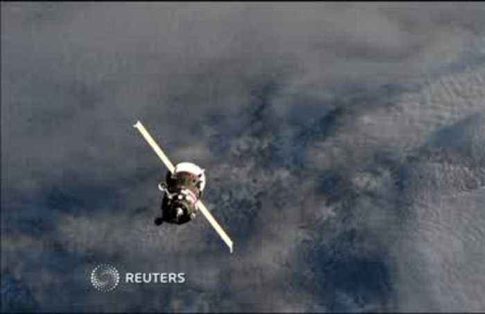 Russian cargo ship arrives at ISS