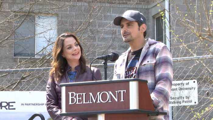 Brad Paisley Breaks Ground On Free Grocery Store