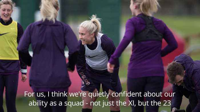 Steph Houghton: England Women hungry for more after SheBelieves Cup success