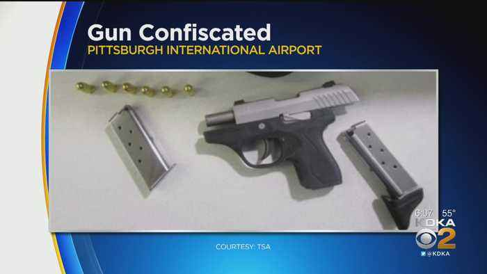 Loaded Gun Confiscated From Irwin Man At Airport