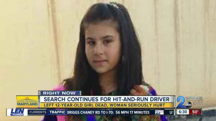 Search continues for hit-and-run driver who killed 12 y/o girl