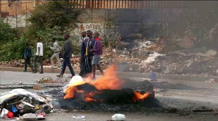 South Africa protests over poverty and poor government services