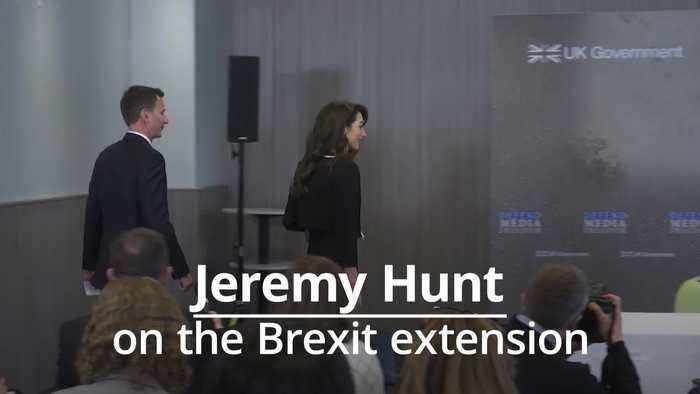Jeremy Hunt: PM will try to avoid European elections despite Brexit extension