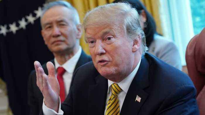 Trump Says US Is 'Getting Very Close' to China Trade Deal